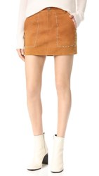 Rebecca Minkoff Barry Skirt Beach Khaki