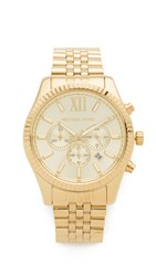 Michael Kors Oversized Lexington Watch Gold