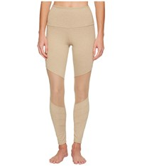 Onzie Moto Capris Taupe Women's Workout