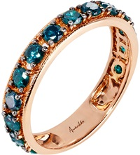 Annoushka Dusty Diamonds 18Ct Rose Gold And Diamond Eternity Ring