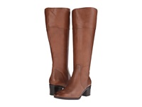 Naturalizer Harbor Wide Calf Banana Bread Leather Women's Wide Shaft Boots Brown
