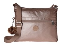 Kipling Wren Rose Gold Metallic Bags