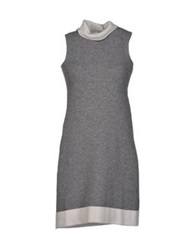 Anneclaire Short Dresses Grey