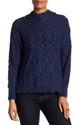 Michael Stars Cable Knit Sweater Black