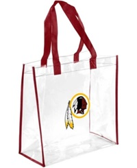 Forever Collectibles Washington Redskins Clear Tote Bag