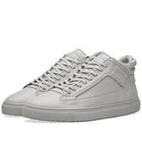 Etq. Mid Top 2 Tone On Tone Sneaker Grey