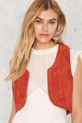 Nasty Gal Working For It Suede Vest