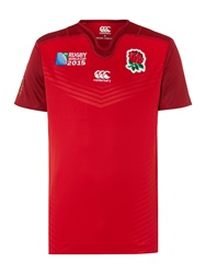 Canterbury Of New Zealand England Alt Pro Rugby Red