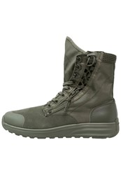 G Star Gstar Cargo High Laceup Boots Combat Oliv