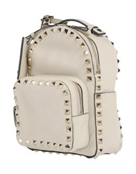 Valentino Garavani Backpacks And Fanny Packs Ivory
