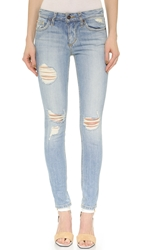 Joe's Jeans Rolled Skinny Ankle Jeans Sylvie