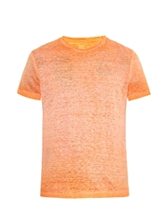 120 Lino Faded Linen T Shirt