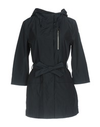 Bomboogie Overcoats Dark Blue