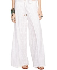 Denim And Supply Ralph Lauren Embroidered Wide Leg Pants