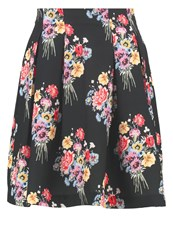 Mintandberry Mini Skirt Multicoloured Black