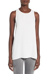 Women's Lush Side Slit Tank Ivory