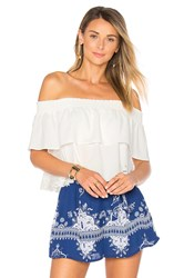 Lovers Friends Angie Top White