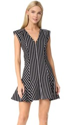 Veronica Beard Fit And Flare Utitlity Dress Black
