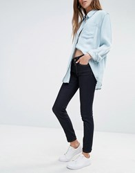 Replay Super Skinny Mid Rise Jeans Blue