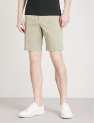 Michael Kors Straight Fit Stretch Cotton Chino Shorts Thyme Green