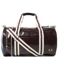 Fred Perry Classic Barrel Bag Brown