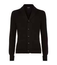 Tom Ford Chunky Ribbed Steve Mcqueen Cardigan Male Black