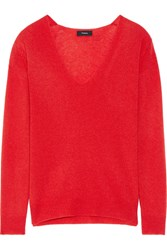 Theory Adrianna Cashmere Sweater Red
