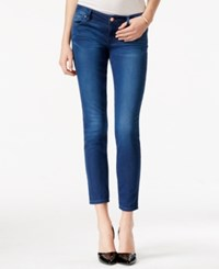 Guess Power Cropped Skinny Basic Blue Wash Jeans