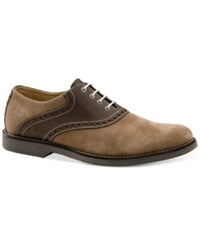 G.H. Bass And Co. Men's Parker Oxfords Men's Shoes Taupe Choc