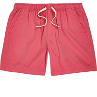 River Island Mens Pink Casual Shorts