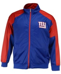 Majestic Men's New York Giants Geo Track Jacket