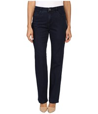 Fdj French Dressing Jeans Petite Supreme Denim Peggy Straight Leg In Pleasant Pleasant Women's Black