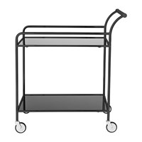 Bloomingville Fine Bar Trolley Table Black