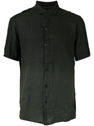 Transit Ombre Short Sleeve Shirt Green