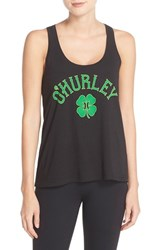 Women's Hurley 'O'hurley' Cotton Tank Black