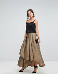 Coast Maxi Gold Skirt Gold