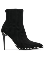 Alexander Wang Eri Ankle Boots Black
