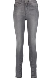 Mih Jeans M.I.H Bodycon High Rise Skinny Anthracite
