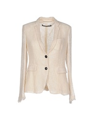 New York Industrie Blazers Ivory