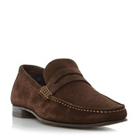 Tommy Hilfiger Russel 2B Classic Penny Loafer Brown