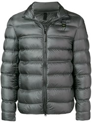 Blauer Short Padded Jacket Grey