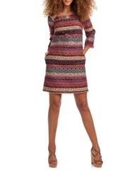 Trina Turk Patterned Shift Dress Multi