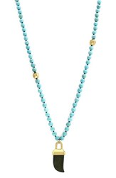Women's Louise Et Cie Beaded Pendant Necklace