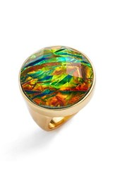 Women's Trina Turk Faceted Dome Cocktail Ring
