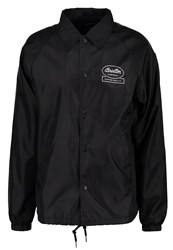 Brixton Dale Summer Jacket Black White