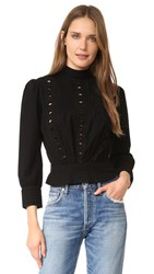 Citizens Of Humanity Josie Blouse Black