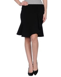 Pinko Black Knee Length Skirts