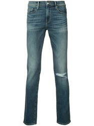 Frame Denim Skinny Jeans Blue