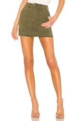 Mcguire Star Sign Utility Skirt Olive