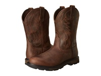 Ariat Groundbreaker Pull On Brown Cowboy Boots